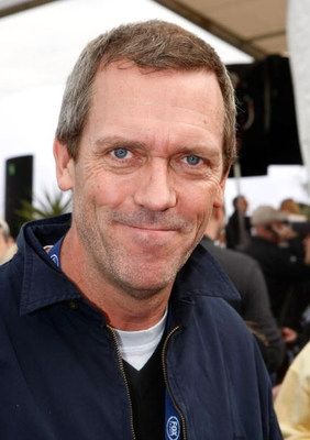 GLENDALE, AZ - FEBRUARY 03:  Actor Hugh Laurie arrives on Fox's Super Bowl XLII red carpet on February 3, 2008 at University of Phoenix Stadium in Glendale, Arizona.  (Photo by Michael Buckner/Getty Images)