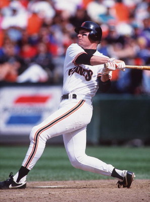 2 May 1993: SAN FRANCISCO GIANTS THIRDBASEMAN MATT WILLIAMS BATS AGAINST THE EXPOS AT CANDLESTICK PARK.