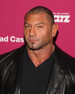 NEW YORK - APRIL 30:  Wrestler Dave Batista attends a screening of 'Head Case' at the MoMA Sculpture Garden on April 30, 2009 in New York City.  (Photo by Jason Kempin/Getty Images)