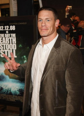NEW YORK - DECEMBER 09:  Wrestler John Cena attends 'The Day The Earth Stood Still' Premiere at AMC Loews Lincoln Square on December 9, 2008 in New York City  (Photo by Stephen Lovekin/Getty Images for 20th Century Fox)