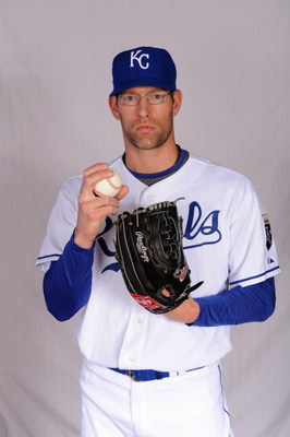 SURPRISE, AZ - FEBRUARY 22:  Kyle Farnsworth of the Kansas City Royals poses during photo day at Surprise Stadium on February 22, 2009 in Surprise, Arizona. (Photo by Harry How/Getty Images)
