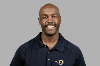 ST. LOUIS - 2008:  Brian Baker of the St. Louis Rams poses for his 2008 NFL headshot at photo day in St. Louis, Missouri.  (Photo by Getty Images)