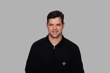 NEW ORLEANS - 2008:  Joe Lombardi of the New Orleans Saints poses for his 2008 NFL headshot at photo day in New Orleans, Louisiana.  (Photo by Getty Images)