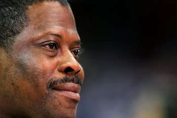 CLEVELAND - JUNE 14: Patrick Ewing before Game Four of the NBA Finals between the San Antonio Spurs and Cleveland Cavaliers on June 14, 2007 at the Quicken Loans Arena in Cleveland, Ohio. NOTE TO USER: User expressly acknowledges and agrees that, by downl
