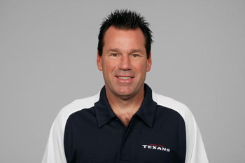 HOUSTON - 2008:  Gary Kubiak of the Houston Texans poses for his 2008 NFL headshot at photo day in Houston, Texas.  (Photo by Getty Images)