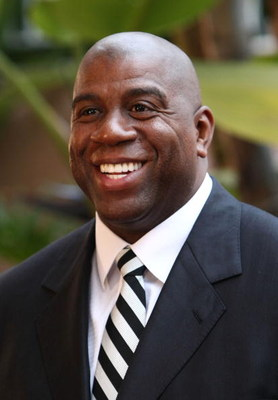 LOS ANGELES, CA - MAY 06:  Former NBA player Earvin 'Magic' Johnson attends the USA TODAY Hollywood Hero honors him at the Beverly Hills Hotel on May 6, 2008 in Los Angeles, California.  (Photo by Alberto E. Rodriguez/Getty Images for USA Today)
