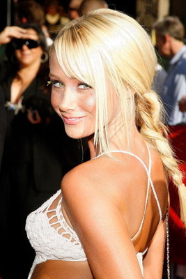 HOLLYWOOD - JULY 11:  Model Sara Jean Underwood arrives at the 2007 ESPY Awards at the Kodak Theatre on July 11, 2007 in Hollywood, California.  (Photo by Vince Bucci/Getty Images)