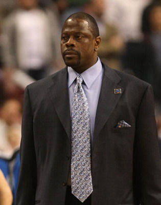 PHILADELPHIA - APRIL 30:  Assistant coach of the Orlando Magic, Patrick Ewing looks on against the Philadelphia 76ers during Game Six of the Eastern Conference Quarterfinals at Wachovia Center on April 30, 2009 in Philadelphia, Pennsylvania. NOTE TO USER: