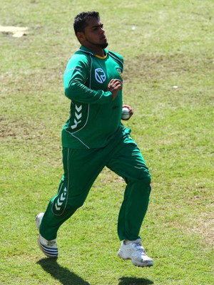 DURBAN, SOUTH AFRICA - APRIL 02:  Yusuf Abdullah of South Africa during a training session at Sahara Park Kingsmead, ahead of the first one-day international against Australia, on April 02, 2009 in Durban, South Africa. (Photo by Anesh Debiky/Gallo Images