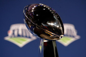 TAMPA, FL - JANUARY 30:  The Vince Lombardi Trophy is seen during the NFC Head coach press conference prior to Super Bowl XLIII held at the Tampa Convention Center on January 30, 2009 in Tampa, Florida.  (Photo by Chris Graythen/Getty Images)