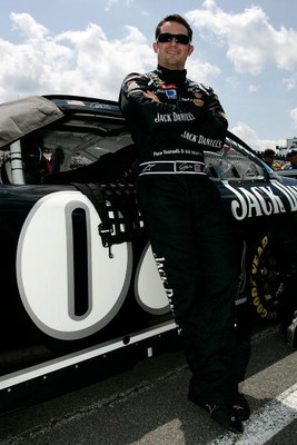 LONG POND, PA - JUNE 07:  Casey Mears stands beside the #07 Jack Daniel's Chevrolet, prior to the NASCAR Sprint Cup Series Pocono 500 on June 7, 2009 at Pocono Raceway in Long Pond, Pennsylvania.  (Photo by Jason Smith/Getty Images)
