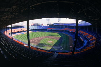 DETROIT- SEPTEMBER 27:  A general view of Tiger Stadium prior to the final baseball game played at the 87 year old Tiger Stadium as the Detroit Tigets host the Kansas City Royals on September 27, 1999 in Detroit, Michigan.  There was 6,873 games played at