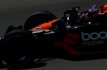 NEWTON, IA - JUNE 20:  Danica Patrick drives the #7 Boost Mobile Motorola Andretti Green Racing Dallara Honda during practice for the IRL Indycar Series Iowa Corn Indy 250 on June 20, 2009 at the Iowa Speedway in Newton,Iowa.  (Photo by Darrell Ingham/Get