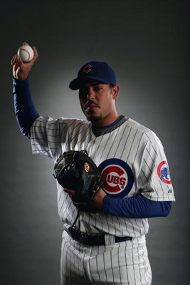 MESA, AZ - FEBRUARY 23:  Geovany Soto of the Chicago Cubs poses during photo day at the Fitch Park Spring Training complex on February 23, 2009 in Mesa, Arizona. (Photo by Donald Miralle/Getty Images)