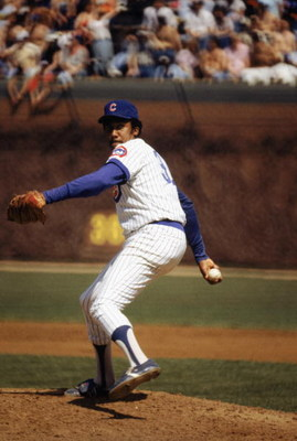 CHICAGO - 1983:  Fergie Jenkins #31 of the Chicago Cubs winds back to pitch in a game during the 1983 season at Wrigley Field in Chicago, Illinois.  (Photo by: Jonathan Daniel/Getty Images)