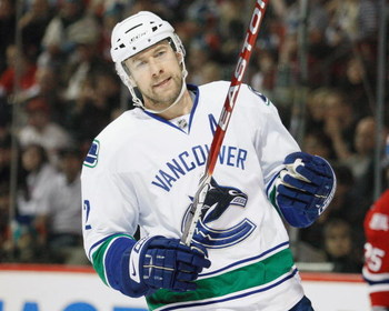 MONTREAL- FEBRUARY 24:  Mattias Ohlund #2 of the Vancouver Canucks skates during the game against the Montreal Canadiens at the Bell Centre on February 24, 2009 in Montreal, Quebec, Canada.  The Canadiens defeated the Canucks 3-0.  (Photo by Richard Wolow
