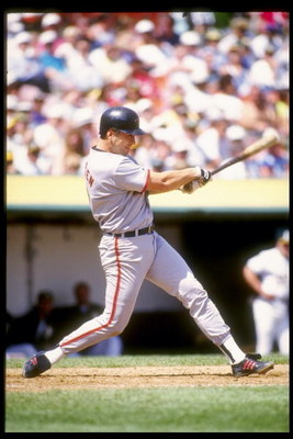 2 Sep 1992:  Shortstop Cal Ripken Jr. of the Baltimore Orioles swings at the ball during a game against the Oakland Athletics. Mandatory Credit: Otto Greule  /Allsport