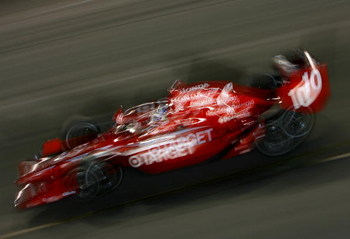 RICHMOND, VA - JUNE 27:  Dario Franchitti drives the #10 Target Chip Ganassi Racing Dallara Honda during the IRL Indycar Series SunTrust Indy Challenge on June 27, 2009 at the Richmond International Raceway in Richmond, Virginia.  (Photo by Darrell Ingham