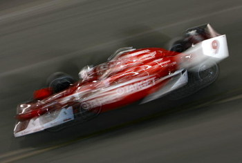 RICHMOND, VA - JUNE 27:  Scott Dixon drives the #9 Target Chip Ganassi Racing Dallara Honda during the IRL Indycar Series SunTrust Indy Challenge on June 27, 2009 at the Richmond International Raceway in Richmond, Virginia.  (Photo by Darrell Ingham/Getty