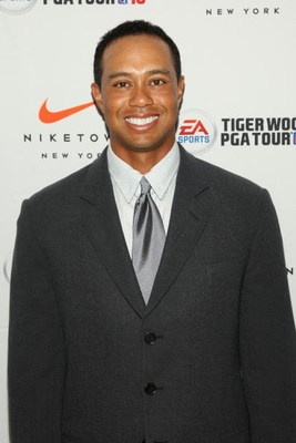 NEW YORK - JUNE 25:  Professional golfer Tiger Woods attends EA SPORTS Tiger Woods PGA TOUR 10 Party at NikeTown on June 25, 2009 in New York City.  (Photo by Stephen Lovekin/Getty Images for EA Sports)