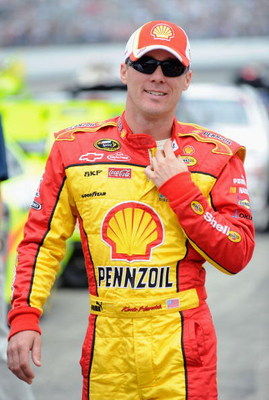 LOUDON, NH - JUNE 28:  Kevin Harvick, driver of the #29 Shell/Pennzoil Chevrolet, walks down the grid prior to the start of the NASCAR Sprint Cup Series LENOX Industrial Tools 301 at New Hampshire Motor Speedway on June 28, 2009 in Loudon, New Hampshire.