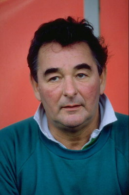 1989:  Portrait of Nottingham Forest Manager Brian Clough. \ Mandatory Credit: Allsport UK /Allsport