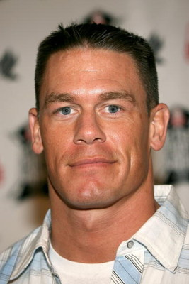 BURBANK, CA - NOVEMBER 30:  Pro-wrestler John Cena arrives at the Inagural 'Arby's Action Sports Awards' held at Center Staging on November 30, 2006 in Burbank, California.   (Photo by Frederick M. Brown/Getty Images)