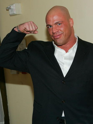NEW YORK - MARCH 6:  WWE wrestler Kurt Angle attends the 6th Annual T.J. Martell 'Family' Day' Indoor Carnival Benefit at Cipriani's Fifth Avenue March 6, 2005 in New York City. (Photo by Evan Agostini/Getty Images)