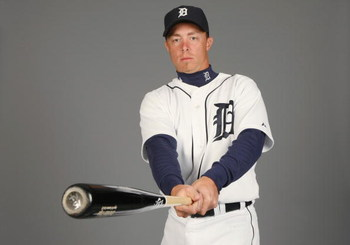 LAKELAND, FL - FEBRUARY 21:  Brandon Inge #15 of the Detroit Tigers poses for a portrait during Photo Day on February 21, 2009 at Joker Marchant Stadium in Lakeland, Florida. (Photo by: Nick Laham/Getty Images)