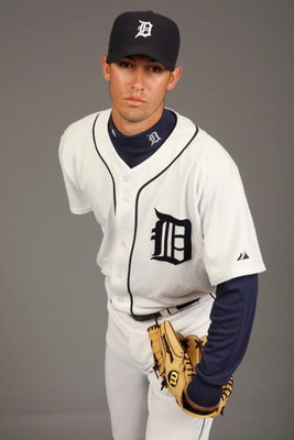 LAKELAND, FL - FEBRUARY 21:  Rick Porcello #48 of the Detroit Tigers poses for a portrait during Photo Day on February 21, 2009 at Joker Marchant Stadium in Lakeland, Florida. (Photo by: Nick Laham/Getty Images)