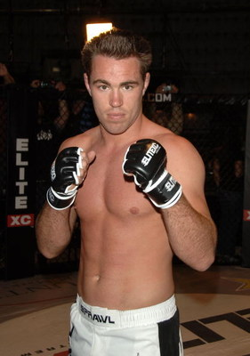 STUDIO CITY, CA - MAY 19:  MMA fighter Jake Shields attends CBS's 'Elite XC Saturday Night Fights' Press Conference at CBS Radford Studios on May 19, 2008 in Studio City, California.  (Photo by Stephen Shugerman/Getty Images)