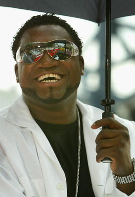 PITTSBURGH - JULY 11:  American League All-Star David Ortiz of the Boston Red Sox takes part in the 2006 MLB All-Star red carpet arrivals outside of PNC Park on July 11, 2006 in Pittsburgh, Pennsylvania.  (Photo by Christian Petersen/Getty Images)