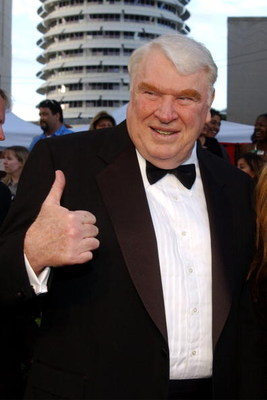 HOLLYWOOD - MARCH 16:  Sports commentator John Madden attends the ABC Television Network's 50th Anniversary Special at the Pantages Theatre on March 16, 2003 in Hollywood, California. (Photo by Vince Bucci/Getty Images)