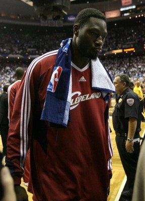 ORLANDO, FL - MAY 30:  Ben Wallace #4 of the Cleveland Cavaliers walks off the court after being defeated by the Orlando Magic in Game Six of the Eastern Conference Finals during the 2009 Playoffs at Amway Arena on May 30, 2009 in Orlando, Florida. NOTE T