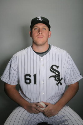 GLENDALE, AZ - FEBRUARY 20:  Adam Russell of the Chicago White Sox poses during photo day at the White Sox spring training complex on February 20, 2009 in Glendale, Arizona.  (Photo by Matthew Stockman/Getty Images)