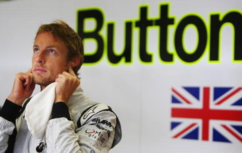 NURBURG, GERMANY - JULY 10:  Jenson Button of Great Britain and Brawn GP prepares to drive during practice for the German Formula One Grand Prix at Nurburgring on July 10, 2009 in Nurburg, Germany.  (Photo by Mark Thompson/Getty Images)