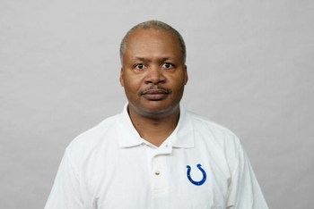 INDIANAPOLIS - 2007:  Jim Caldwell of the Indianapolis Colts poses for his 2007 NFL headshot at photo day in Indianapolis, Indiana.  (Photo by Getty Images)