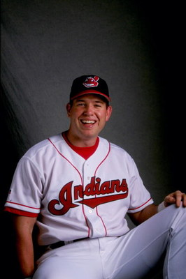 24 Feb 1998: Sean Casey #52 of the Cleveland Indians poses for a portrait during spring training at the Chain of Lakes Park in Winter Haven, Florida.