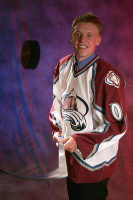 OTTAWA, ONT - JULY 30:  Ryan Stoa of the Colorado Avalanche poses for a portrait during the 2005 National Hockey League Draft on July 30, 2005 at the Westin Hotel in Ottawa, Canada.  (Photo by Brian Bahr/Getty Images for NHL)