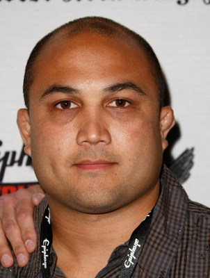 LOS ANGELES, CA - APRIL 07:  UFC Fighter BJ Penn arrives at the 1st Annual Epiphone Revolver Golden Gods Awards at the Club Nokia on April 7, 2009 in Los Angeles, California.  (Photo by Michael Buckner/Getty Images)