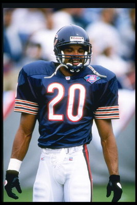 4 Sep 1994:  Defensive back Mark Carrier of the Chicago Bears looks on during a game against the Tampa Bay Buccaneers at Soldier Field in Chicago, Illinois.  The Bears won the game, 21-9. Mandatory Credit: Jonathan Daniel  /Allsport
