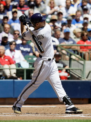 MILWAUKEE - MAY 14: Ryan Braun #8 of the Milwaukee Brewers swings at the ball against the Florida Marlins on May 14, 2009 at Miller Park in Milwaukee, Wisconsin. The Brewers defeated the Marlins 5-3. (Photo by Jonathan Daniel/Getty Images)