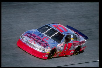 14 Feb 1997:  Darrell Waltrip performs during a qualifying race for the Daytona 500 at Daytona International Speedway in Daytona Beach, Florida. Mandatory Credit: Jamie Squire  /Allsport