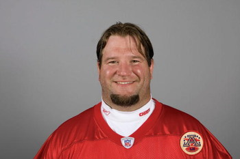 KANSAS CITY, MO - 2009:  Mike Goff of the Kansas City Chiefs poses for his 2009 NFL headshot at photo day in Kansas City, Missouri.  (Photo by NFL Photos)