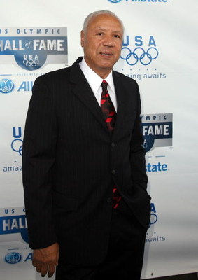 CHICAGO - AUGUST 12: Lenny Wilkens Asst. Coach for the 1992 U.S. Men's Basketball Team attends the 2009 U.S. Olympic Hall of Fame Induction Ceremony at McCormick Place on August 12, 2009 in Chicago, Illinois. (Photo by Tasos Katopodis/Getty Images for USO