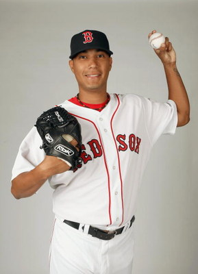 FORT MYERS,FLORIDA - FEBRUARY 22: Felix Doubront #73 of the Boston Red Sox poses during photo day at the Red Sox spring training complex on February 22, 2009 in Fort Myers, Florida. (Photo by: Nick Laham/Getty Images)