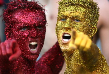 TALLAHASSEE, FL - OCTOBER 20:  Florida State Seminole fans root for there team against the University of Miami Hurricanes in the second quarter at Bobby Bowden Field at Doak Campbell Stadium October 20, 2007 in Tallahassee, Florida. Miami defeated FSU 37-