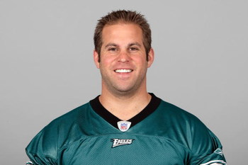 PHILADELPHIA - 2009:  Jon Dorenbos of the Philadelphia Eagles poses for his 2009 NFL headshot at photo day in Philadelphia, Pennsylvania.  (Photo by NFL Photos)