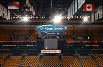 BOSTON - JANUARY 12: Interior view of the Fleet Center, home of the Boston Bruins taken on January 12, 2003 in Boston, Massachusetts. (Photo by: Brian Babineau/Getty Images)
