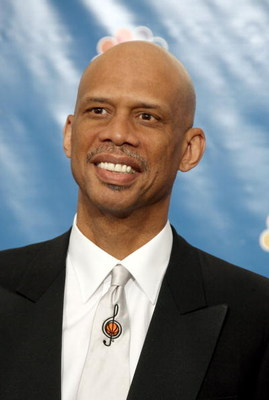 LOS ANGELES - AUGUST 27:  Former basketball player Kareem Abdul Jabar poses in the press room at the 58th Annual Primetime Emmy Awards at the Shrine Auditorium on August 27, 2006 in Los Angeles, California.  (Photo by Kevin Winter/Getty Images)